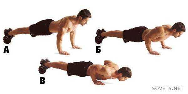 Варианты упражнений для разогрева
