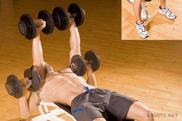 Варианты программы тренировки грудных мышц